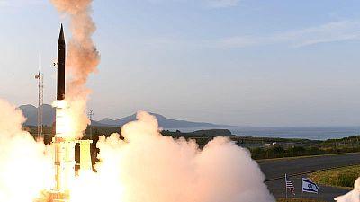 Israel says Arrow-3 missile shield passes U.S. trials, warns Iran