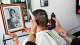 Fit for the king? Thai monarchist's birthday haircut