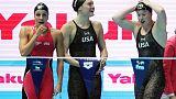 U.S. set world record, claim women's 4x100m medley relay gold