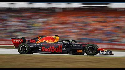 Gp Germania a Verstappen, Vettel secondo