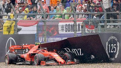 """F1: Leclerc """"errore mio, ma la pista..."""""""