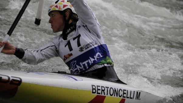 Canoa:Bertoncelli campionessa italiana