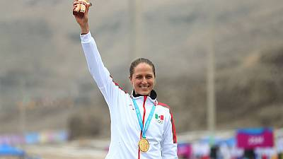 Mexico celebrates on Peru Independence Day at Pan Ams