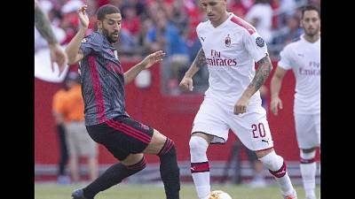 Icc: Milan-Benfica 0-1
