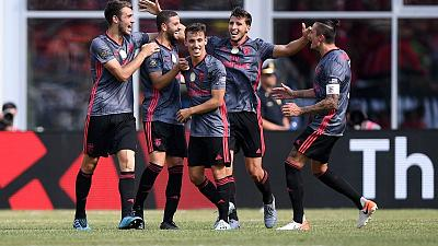 Benfica make it three wins from three in ICC