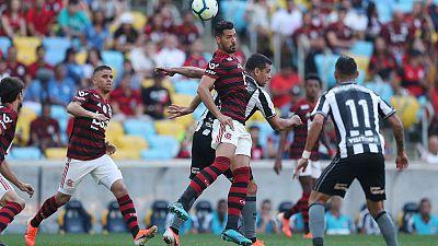Flamengo beat Botafogo 3-2 in fiery Rio derby