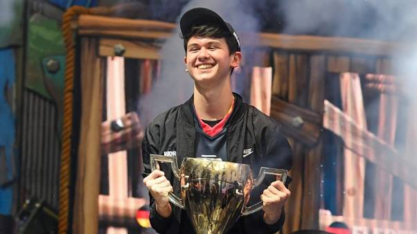 U.S. teen wins $3 million at video game tournament Fortnite World Cup