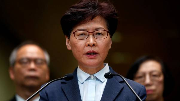 Beijing reiterates support for Hong Kong's Lam, police
