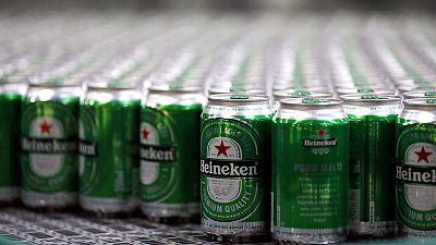 Heineken half-year profit misses on higher costs