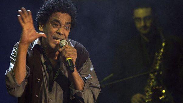 محمد منير يختتم الدورة 34 لمهرجان جرش للثقافة والفنون