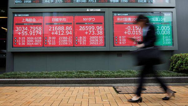 أسهم اليابان تتراجع مع حذر المستثمرين قبل إعلان نتائج وسياسات