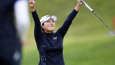 Golf: Jin Young Ko regina green 'rosa'