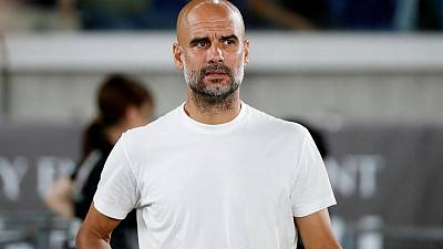 Puma signs partnership with Manchester City manager Guardiola