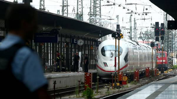 Man pushes boy in front of train in Germany, killing him