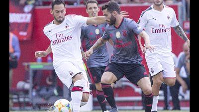 Milan tornato in Italia,c'è problema-gol
