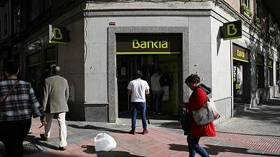 Spain's Bankia second-quarter net profit falls 32% due to lower trading income