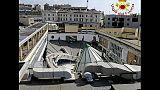 Crolla tetto piscina a Trieste,no feriti