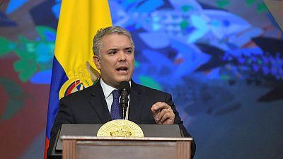 Venezuela is terrorist sanctuary - Colombian president