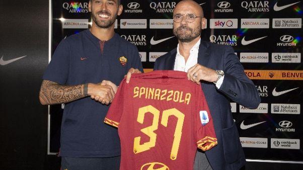 Roma:Spinazzola, Fonseca mi ricorda Gasp