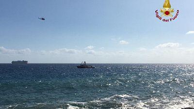 Due persone disperse in mare a Genova