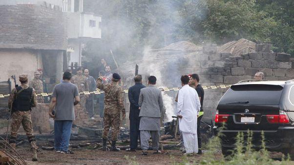 Pakistani military plane crashes near garrison city, kills 17