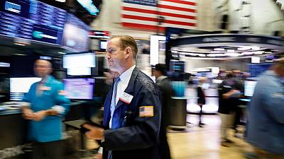 Stocks off on Trump's warning to China; sterling falls further