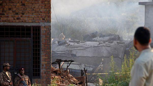مقتل 17 في تحطم طائرة عسكرية باكستانية كانت في مهمة تدريبية