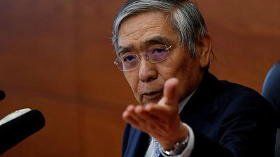 BOJ hints at more easing if inflation sputters, keeps policy steady