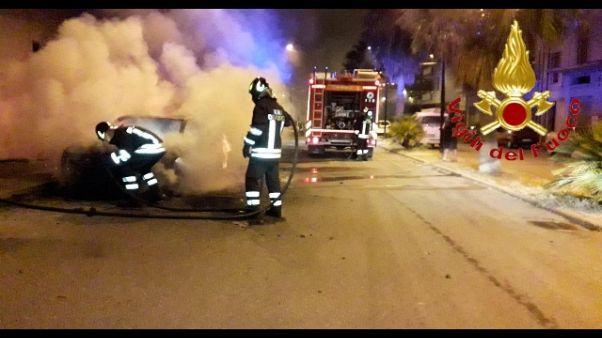 Due attentati nella notte in Sardegna