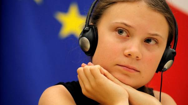 Climate activist Thunberg to sail to U.N. summit in New York from Britain