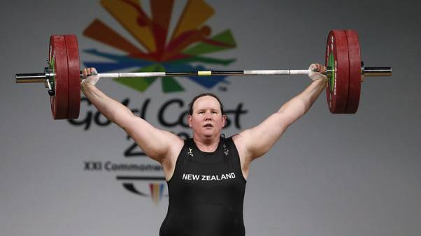 Weightlifter Hubbard becomes lightning rod for criticism of transgender policy