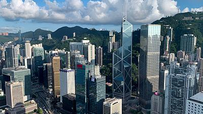 Hong Kong's second quarter GDP growth seen firmer, but trade war, protests to bite