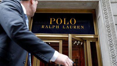 Ralph Lauren quarterly revenue rises about 3%