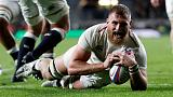 England flanker Shields out for up to six weeks