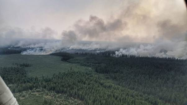 Russians demand vast wildfires consuming Siberia be extinguished