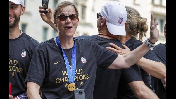 Ct Usa donne Ellis lascia dopo trionfo