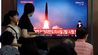 North Korea fires multiple unidentified projectiles - South Korean military
