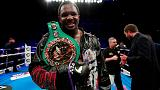 Boxing: WBC provisionally suspends Whyte as mandatory heavyweight challenger