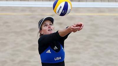 Games: Cold and gold as U.S and Chile take beach volleyball titles