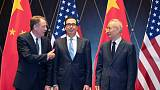 U.S., China trade meeting ends with sharp response to Trump