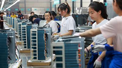 Trade war keeps China's factories in reverse gear for third month