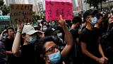 Hong Kong protesters appear in court to face 'riot' charge