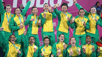 Games-Brazil and Argentina renew rivalry on Pan Am handball court