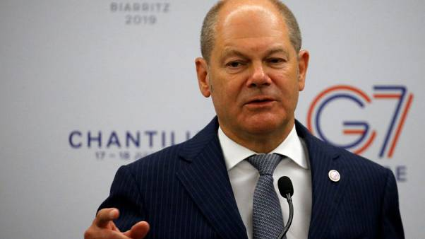 Germany's Scholz 'very sceptical' about U.S. mission for Strait of Hormuz