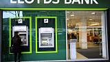 Lloyds Bank hit by 550 million sterling PPI charge, pretax profits fall