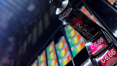 L'Oreal shares fall after weaker make-up demand weighs on sales