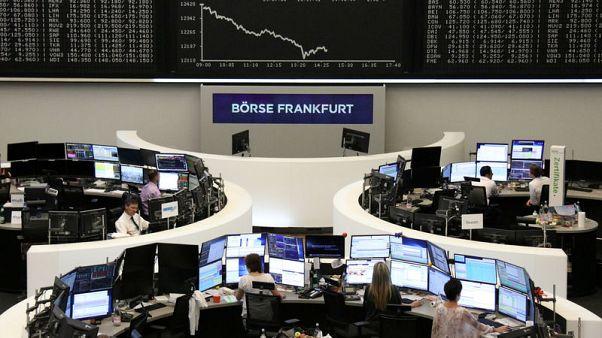 الأسهم الأوروبية تستقر صباحا والأنظار على المركزي الأمريكي