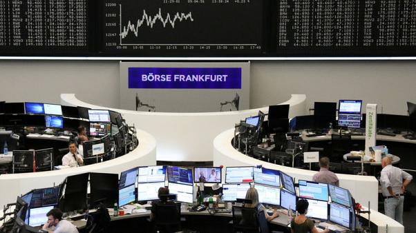 Earnings, trade optimism help European shares ahead of Fed decision