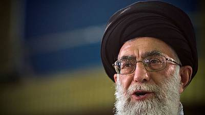 Iran supreme leader says the people will prevail in Bahrain after protests