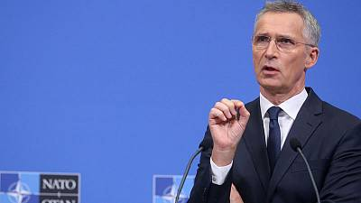 Stoltenberg says no NATO mission requested in Strait of Hormuz